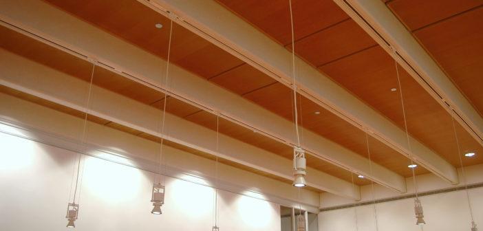 DeCoustics ceiling in Chicago Institute of Art