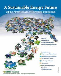 Energy Awareness Month poster