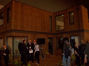 University of Nottingham Solar House at Ecobuild