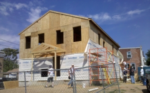 Habitat for Humanity House, Chester, PA