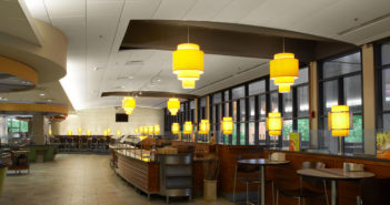 The right ceiling panel material makes a huge difference in acoustical performance.