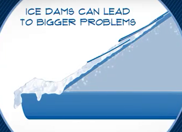 Ice Damming Roofs - Roofers Calgary, Roofers Lethbridge