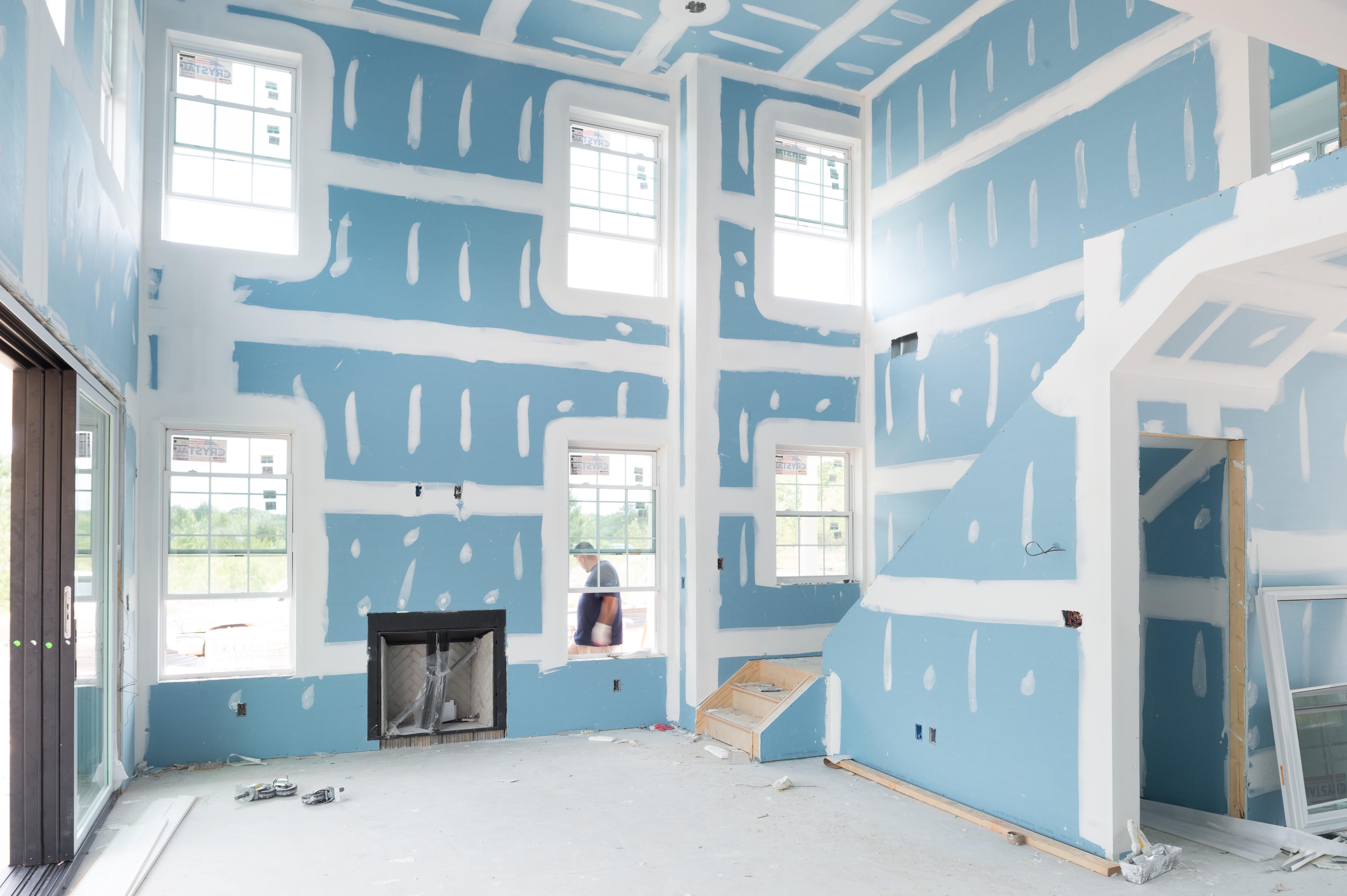Selecting the right drywall finish for every room in the for Airrenew drywall