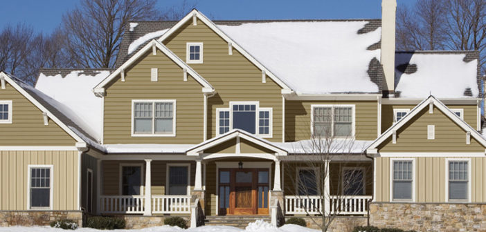 Insulated siding can improve the energy efficiency of your home.