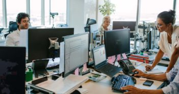 Effective noise control strategies for open space offices.