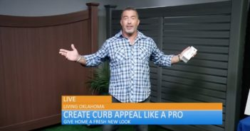 Home improvement expert Skip Bedell hosts CertainTeed media tour.
