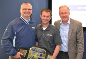CertainTeed Plant in Avery, OH, Pictured: Troy Fronzaglio, Andrew Caloway, Mark Rayfield