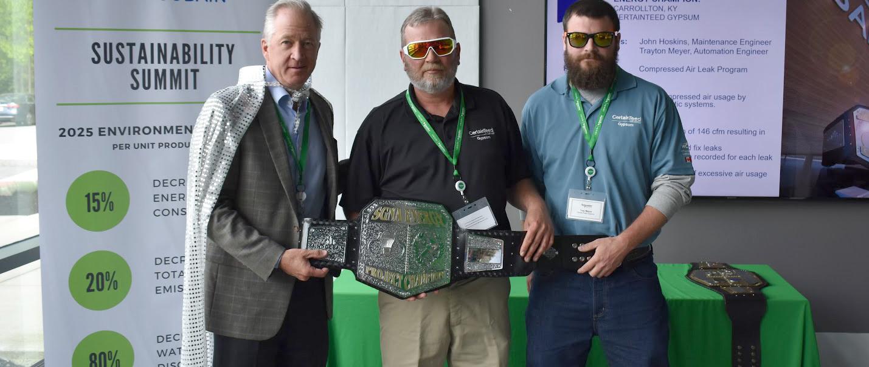Sustainability Energy Champion, CertainTeed Gypsum, Carrollton, KY