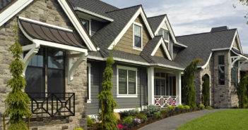 Add wrought iron accents that match the exterior of your home for a beautiful look and lots of curb appeal.