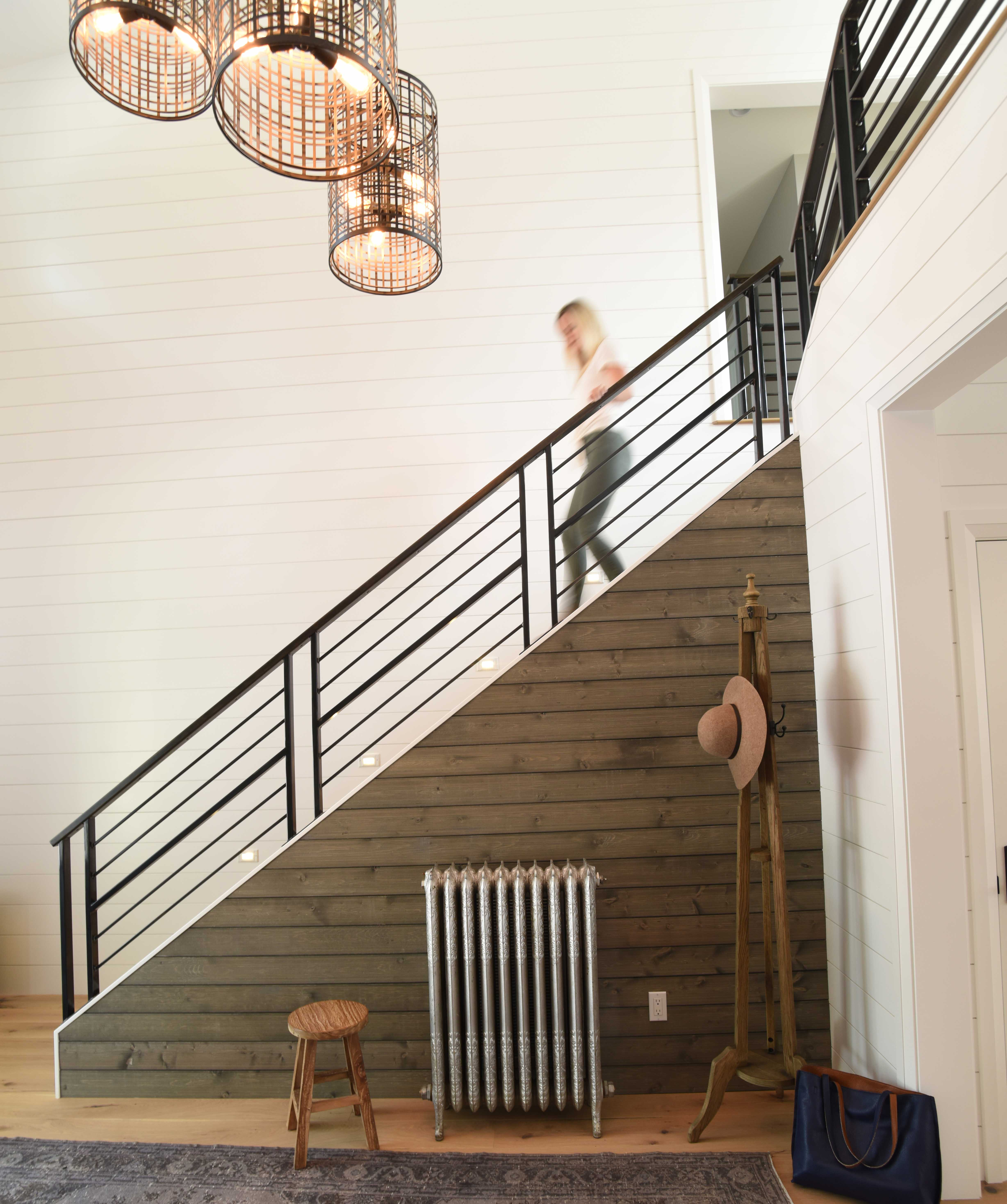 South Sound Magazine Northwest Idea house - american modern farmhouse entryway