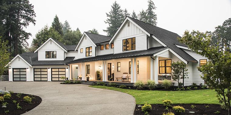 South Sound Magazine Northwest Idea house - american modern farmhouse