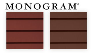 New colors CertainTeed Monogram siding