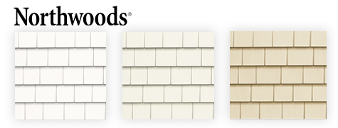 New colors CertainTeed Northwoods siding
