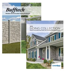 CertainTeed Rail and Fence catalogs