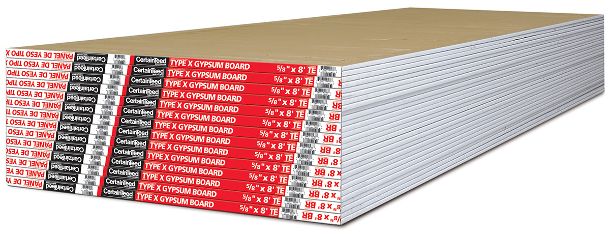fire rated type x drywall gypsum board