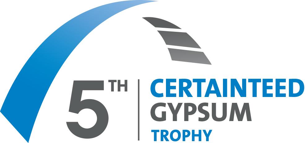 5th CertainTeed Gypsum Trophy