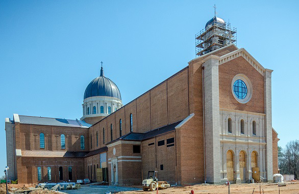 CertainTeed Gypsum Trophy drywall award winning project: Holy Name of Jesus Cathedral