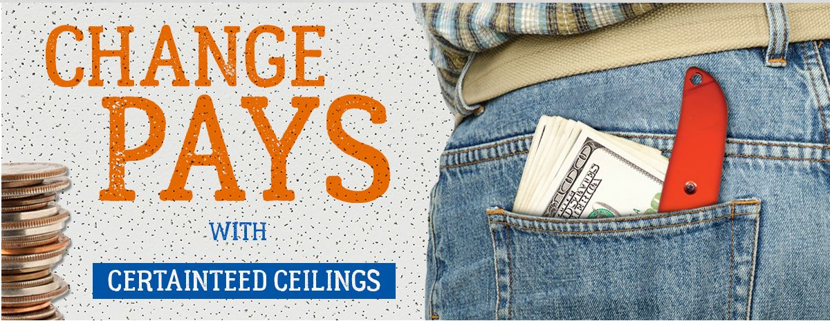 CertainTeed ceilings contractor promotion