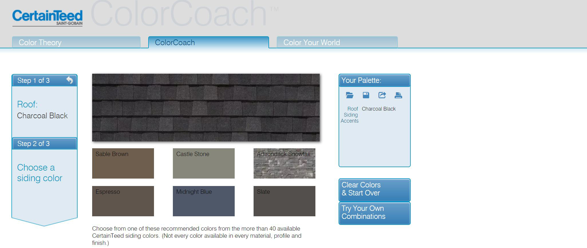 5 Contractor tools roofing siding trim CertainTeed ColorCoach
