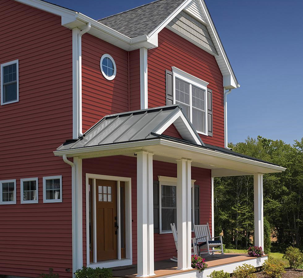 certainteed monogram siding vinyl greed sustainable environmental impact
