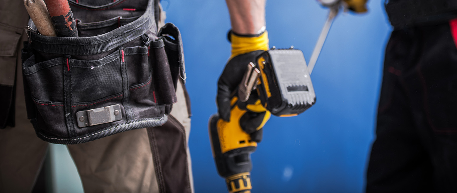 construction job site safety power tools