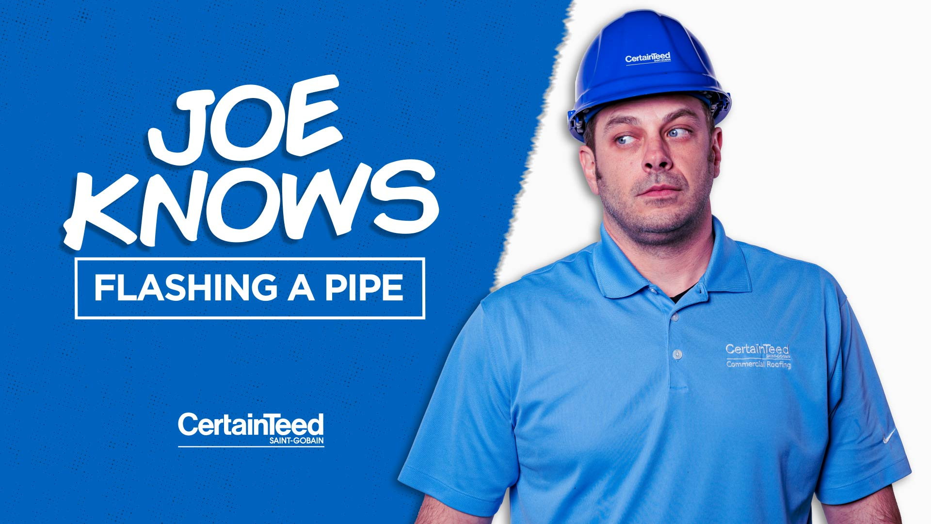 Commercial Roofing Construction Details: How to Flash A Pipe (CT-13)