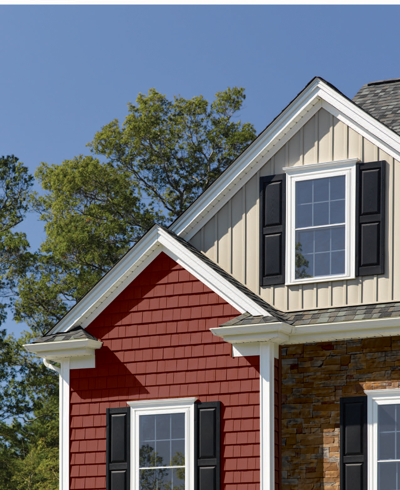 CertainTeed Siding Mix and Match Exterior Bumpout