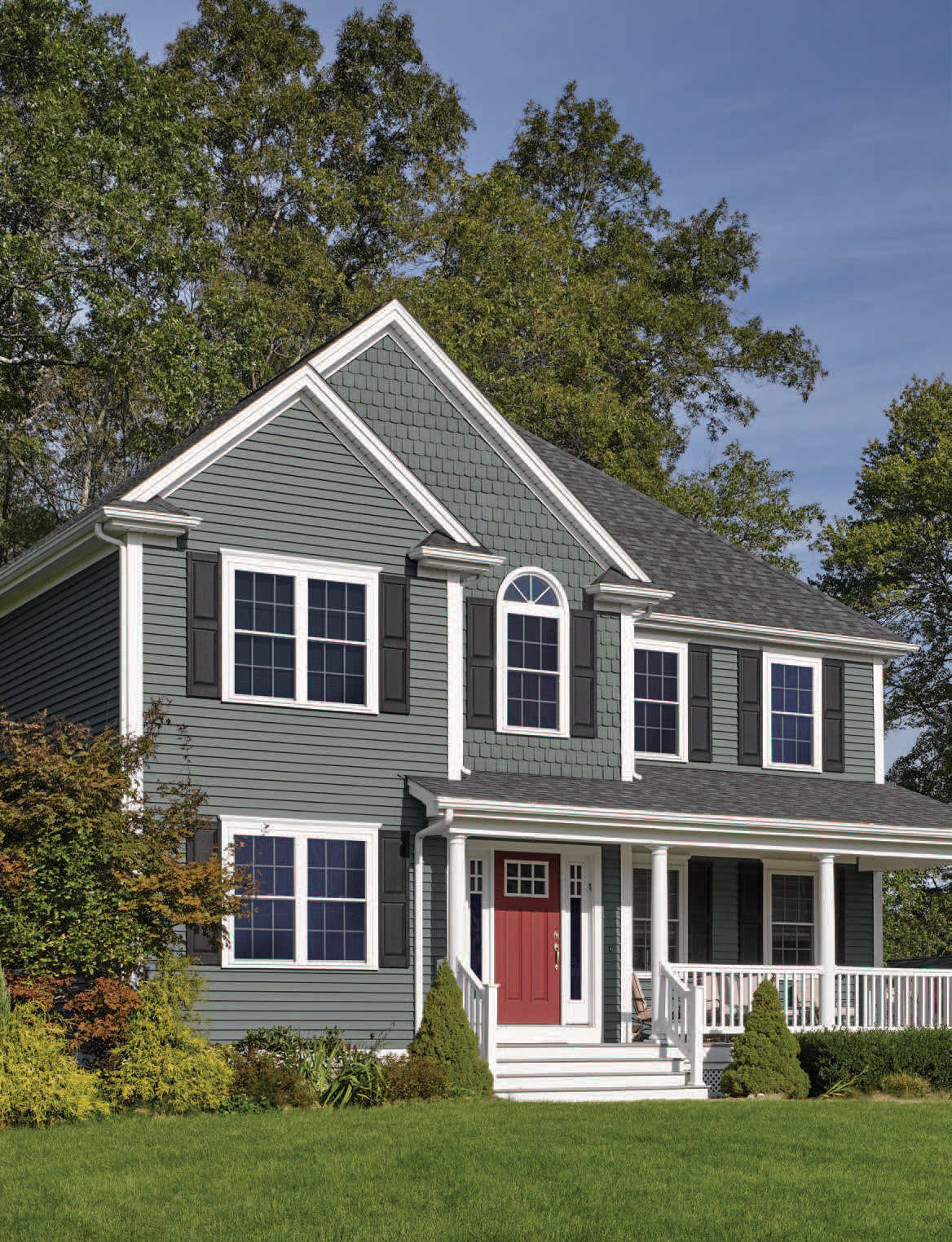 CertainTeed Siding Perfection Shape in Gable